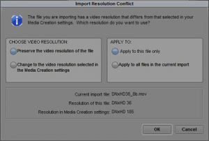 Import Resolution Conflict