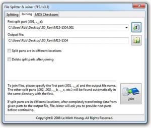 file-splitter-joiner
