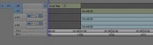 Avid Media Composer Title 1:1